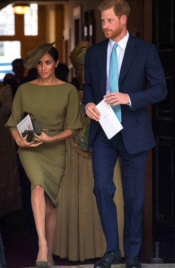księżna Meghan, chrzest księcia Louisa, 2018