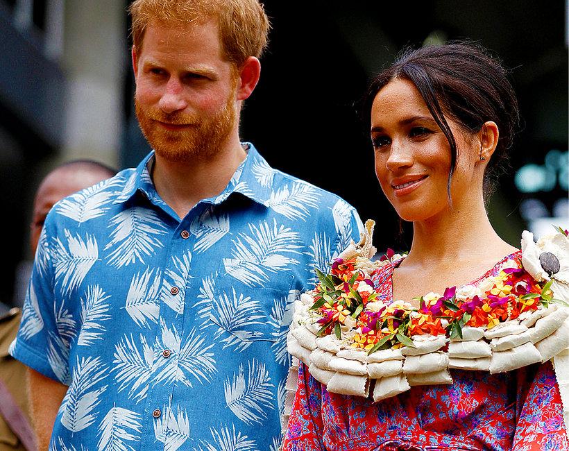 Księżna Meghan i książę Harry na Fidżi