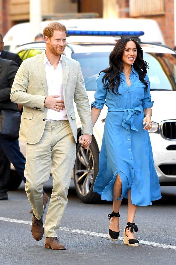 Księżna Meghan i książę Harry royal tour 2019