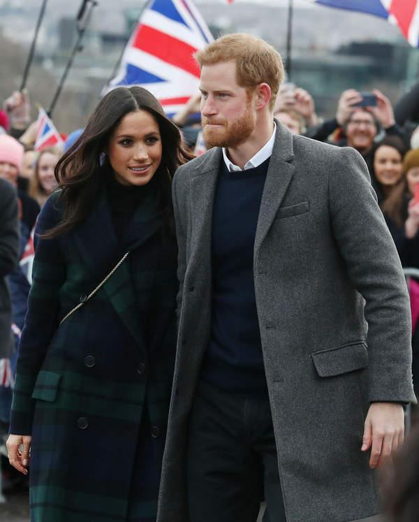 Księżna Meghan, Książę Harry