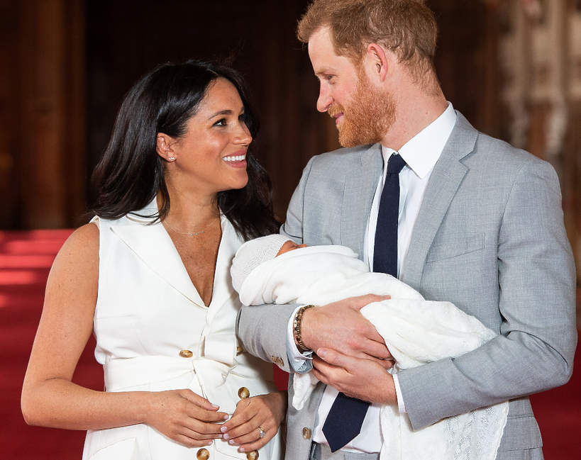 Księżna Meghan, książę Harry, Archie