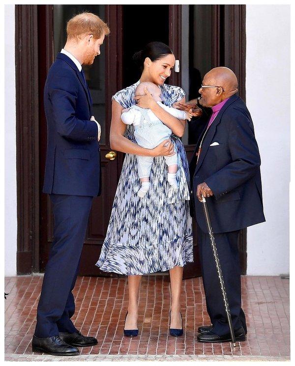 Księżna Meghan, książę Harry, Royal tour 2019 Afryka, Archie Harrison Mountbatten-Windsor