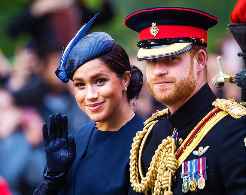 Księżna Meghan, książęHarry