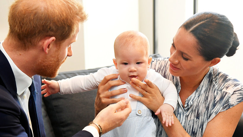 księżna Meghan, książę Harry, Archie Harrison Mountbatten-Windsor