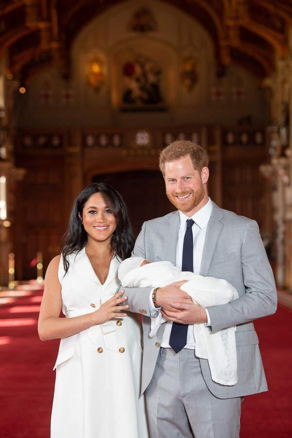 księżna MEghan, książęHarry dziecko
