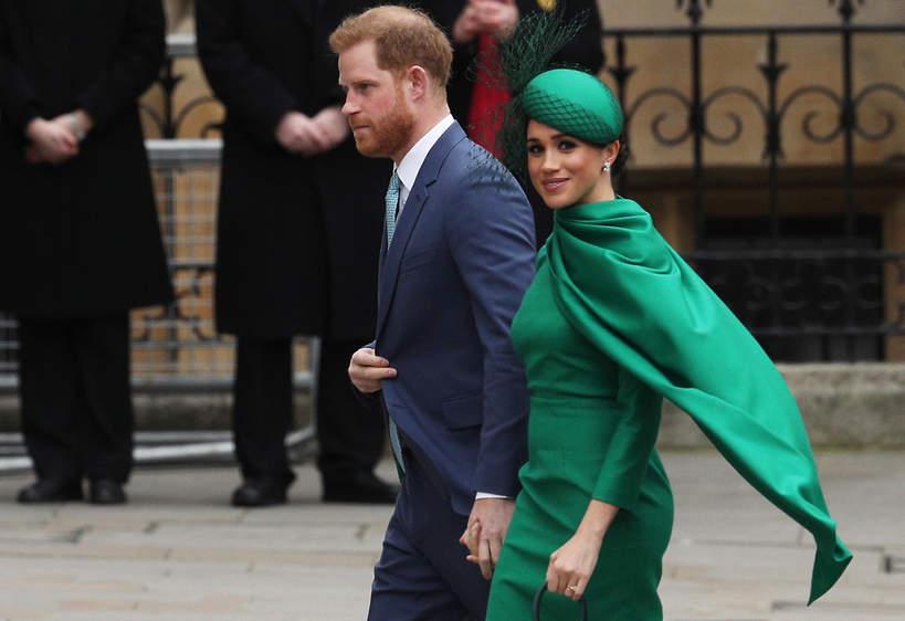 Księżna Meghan, książęHarry wywiad