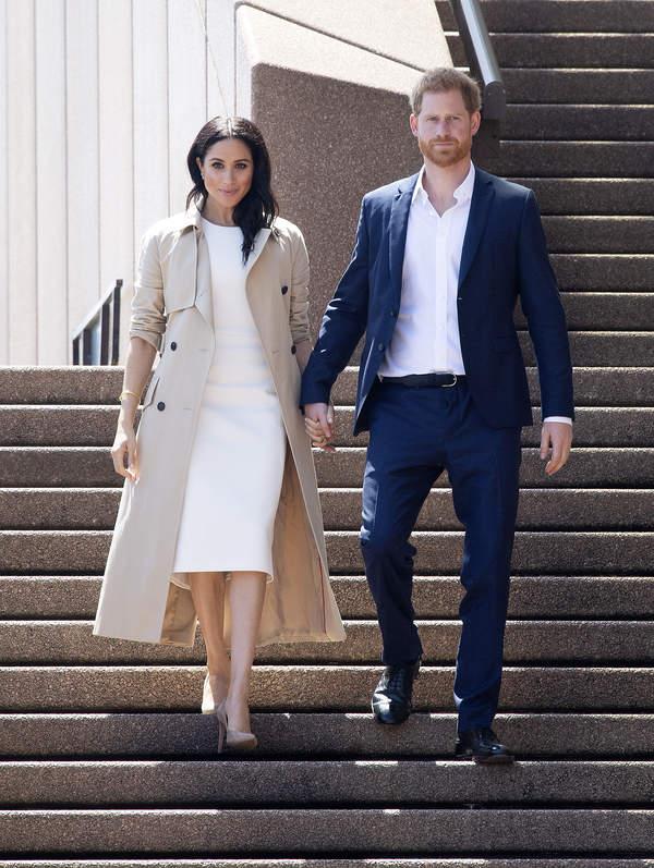 Księżna Meghan, książęHarry zrezygnowali z pełnienia królewskich funkcji