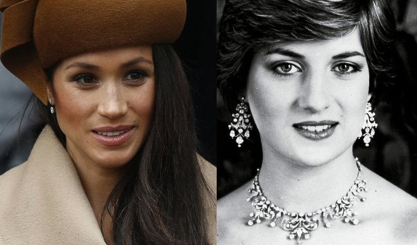 księżna Meghan, księżna Diana, Meghan i Diana