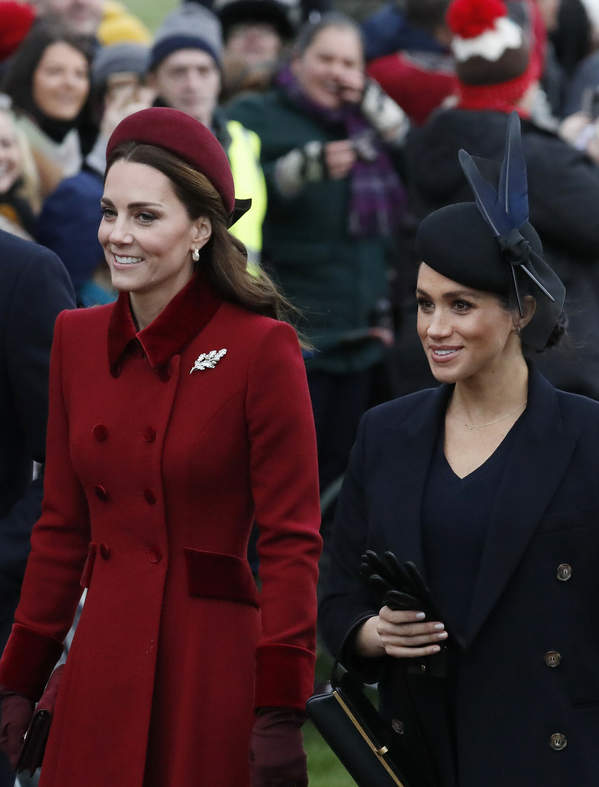księżna Meghan, Księżna Kate, 2018