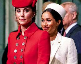 Te gesty świadczą o bliskiej relacji księżnej Kate i księżnej Meghan?!