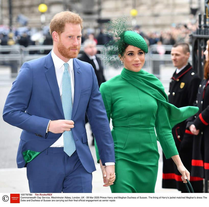 księżna Meghan, Meghan Markle, Książę Harry, 2020 rok