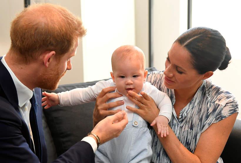Księżna Meghan, Meghan Markle, książę Harry, Archie