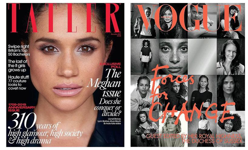 Księżna Meghan okładka Vogue