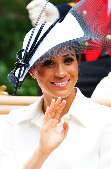księżna Meghan w Ascot