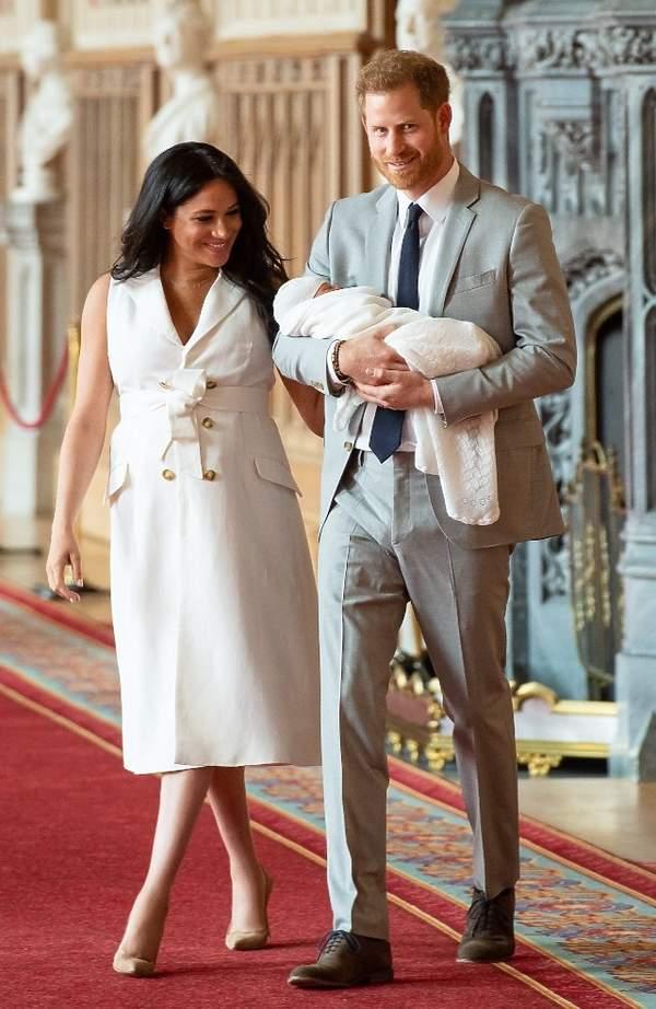 Księżna Meghan w drugiej ciąży, imiędziecka