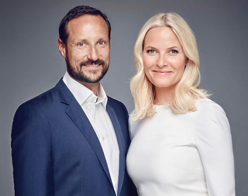 Księżna Mette-Marit, książę Haakon