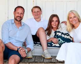 księżna Mette-Marit, norweska rodzina królewska, książę Haakon