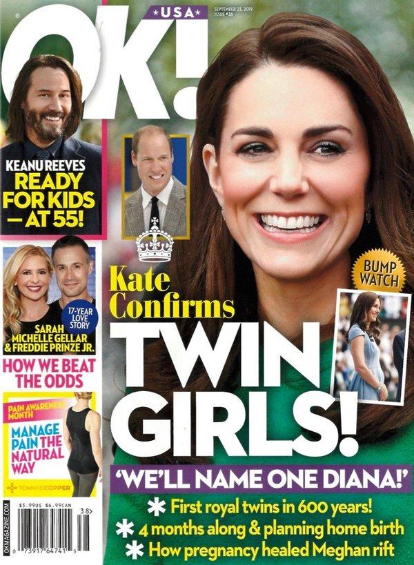 Księżna na okładce magazynu OK!
