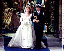 Księżna Sarah Ferguson i książęAndrzej
