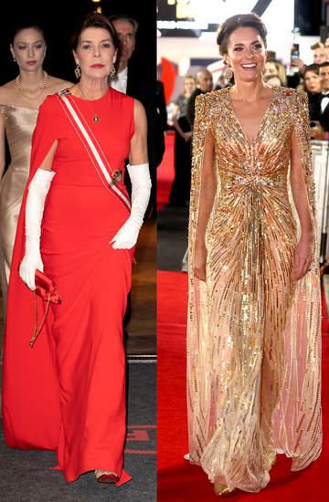 Księżne i królowe w pelerynach