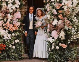 Ślubna kreacja księżniczki Beatrice jest naprawdę wyjątkowa. Ma to związek z Elżbietą II!