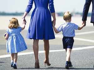 Księżniczka Charlotte idzie do przedszkola