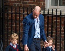 Księżniczka Charlotte, książę George, książę William