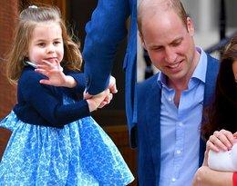 Księżniczka Charlotte, księżna Kate, książę William