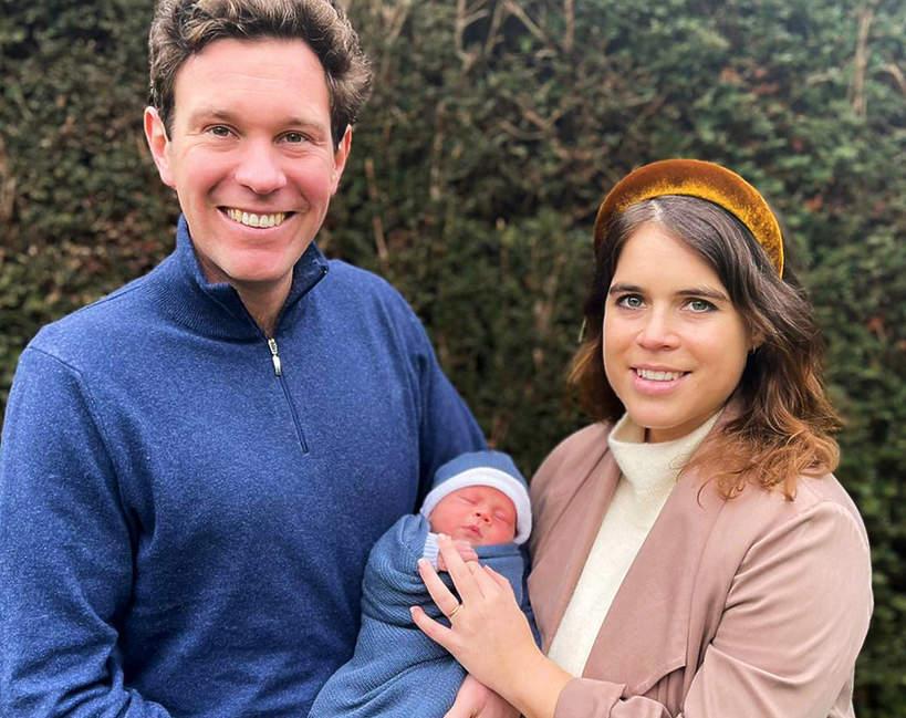 Księżniczka Eugenia ujawniła imiona syna