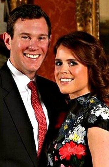 Księżniczka Eugenia zaręczona, zaręczyny w brytyjskiej rodzinie królewskiej