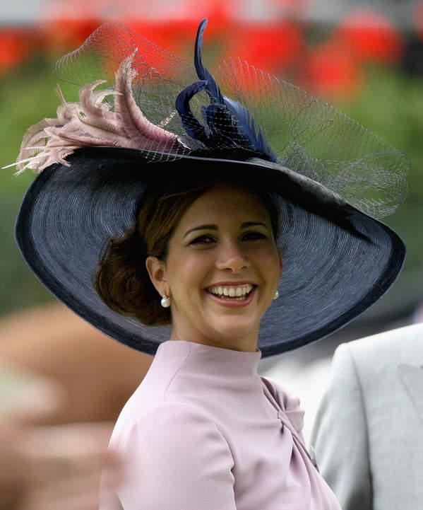 księżniczka Haya usmiech