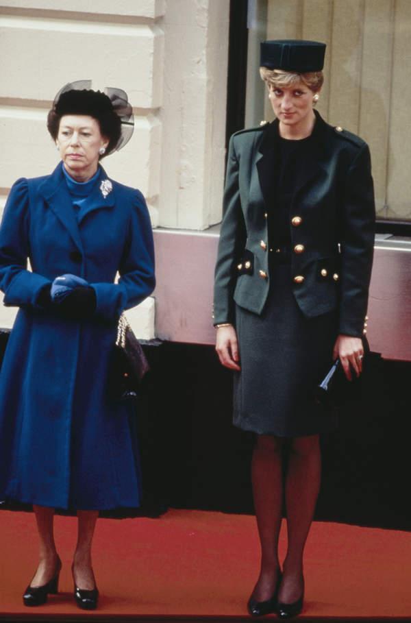 księżniczka Małgorzata, księżna Diana