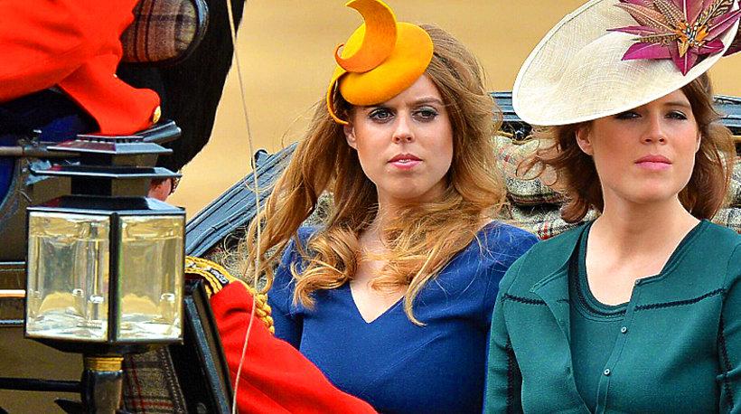 Księżniczki Beatrice i Eugenia