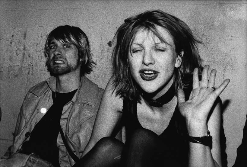 Kurt Cobain, Courtney Love