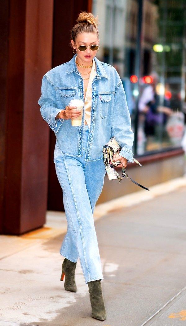 kurtki na jesień 2019, Gigi Hadid