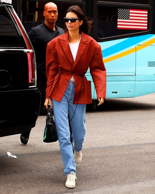 kurtki na jesień 2019, Kendall Jenner
