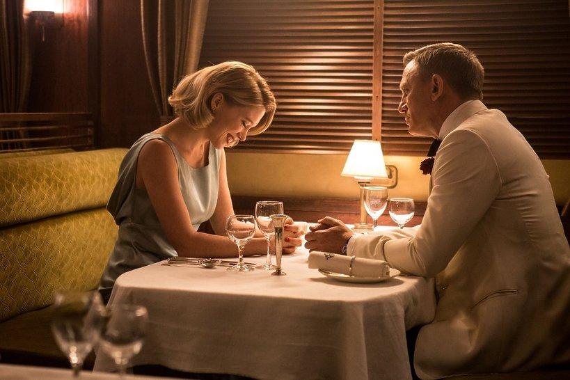 Léa Seydoux i Daniel Craig w