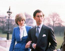 Lady Diana i książę Karol w dni zaręczyn