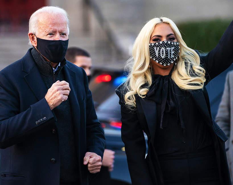 Lady Gaga na zaprzysiężeniu Bidena