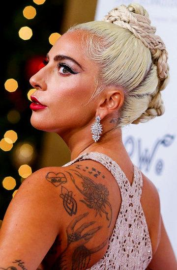 Lady Gaga nowy tatuaż