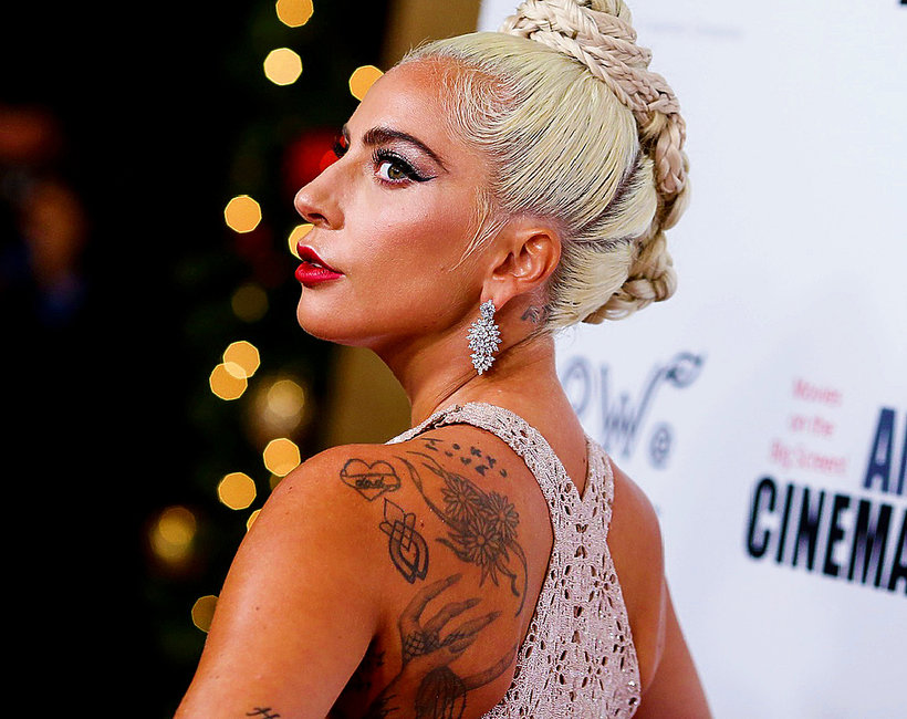 Lady Gaga Ma Nowy Tatuaż Na Plecach To Hołd Dla Edith Piaf