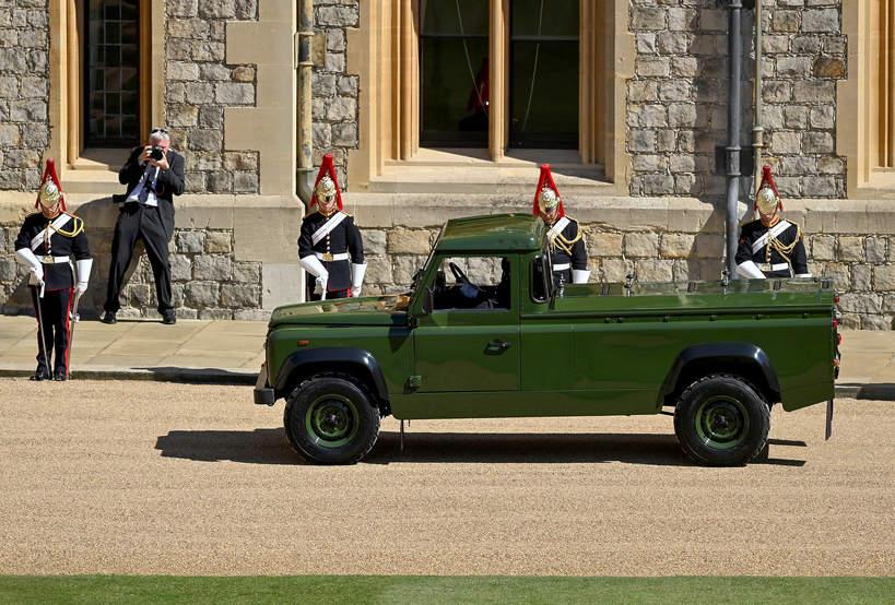 Land Rover księcia FIlipa