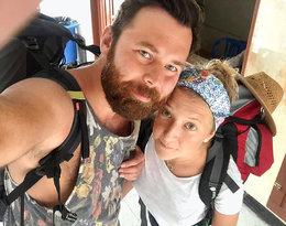Lara Gessler z mężem
