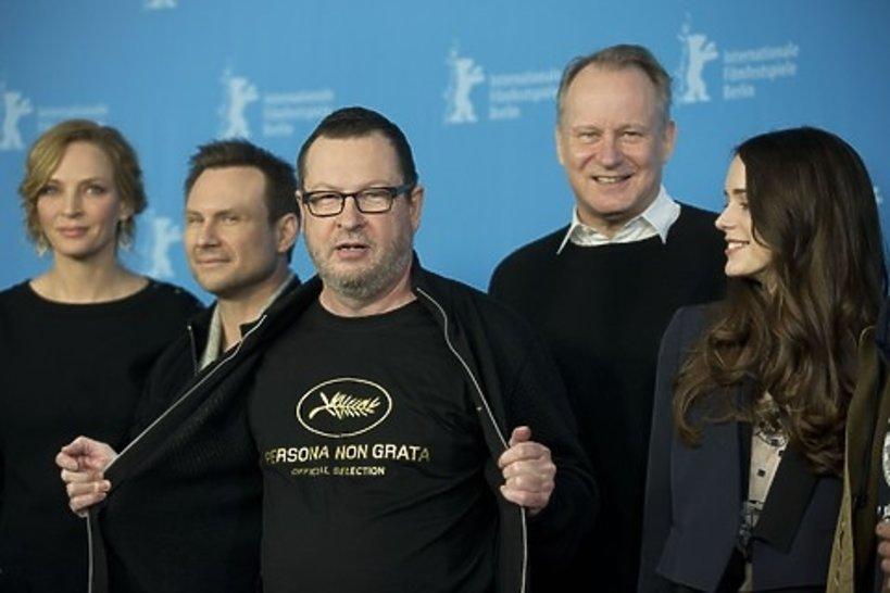Lars von Trier w Cannes