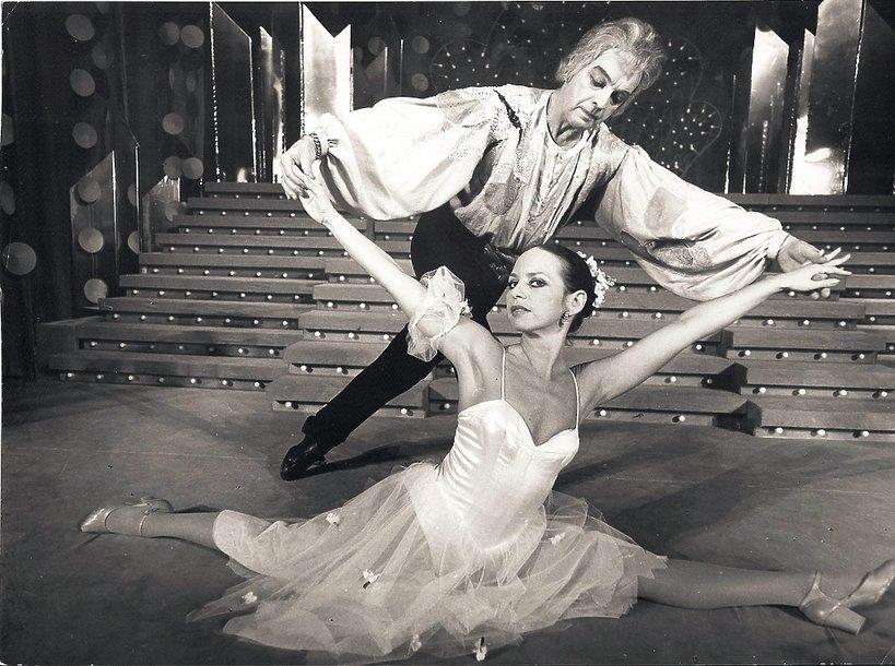 Lata 80. Ostatni taniec Witolda Grucy  z Małgorzatą Potocką