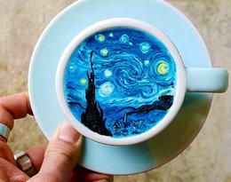Co wspólnego ma latte z van Goghiem?