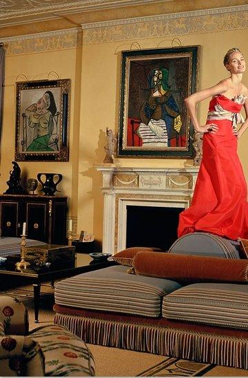 Lauren Davis i Dustin Hoffman