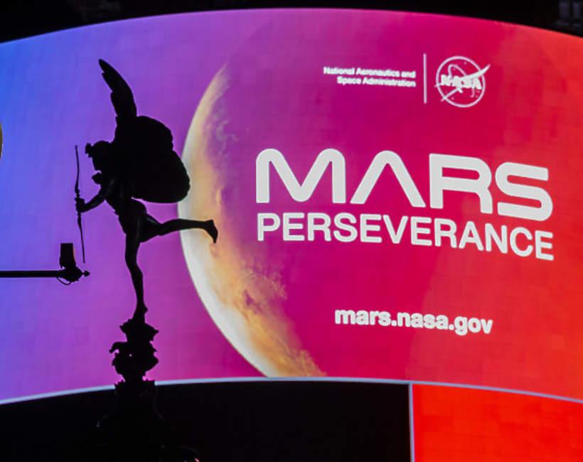 Łazik na Marsie