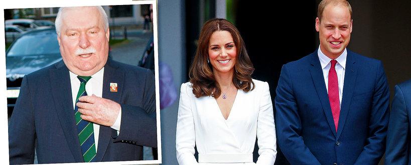 Lech Wałęsa, księżna Kate, książę William