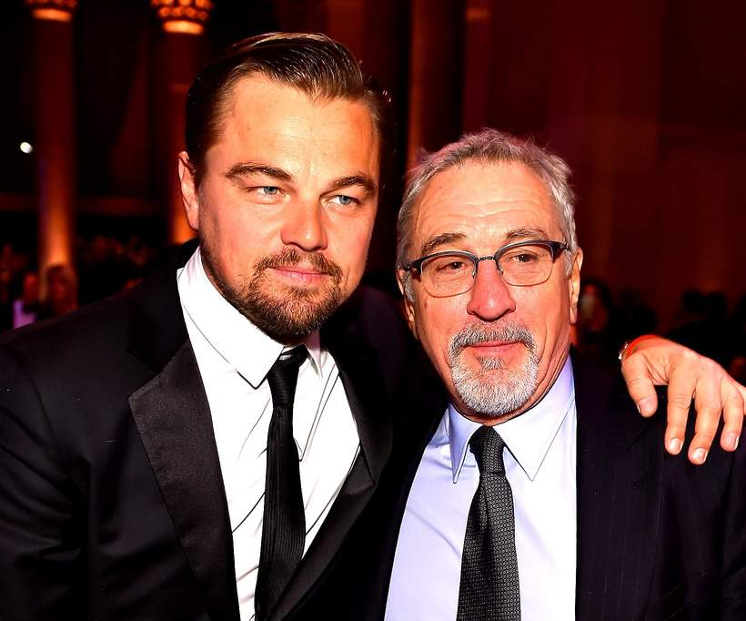 Leonardo DiCaprio, Robert De Niro, 2016 amfAR New York Gala